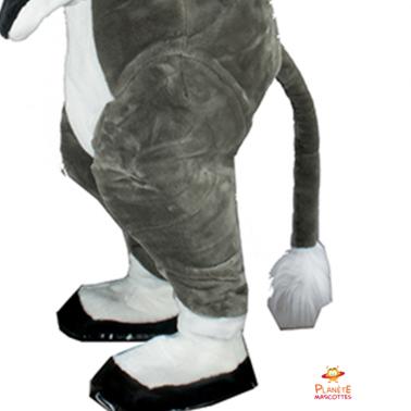 Bas mascotte âne Planète Mascottes