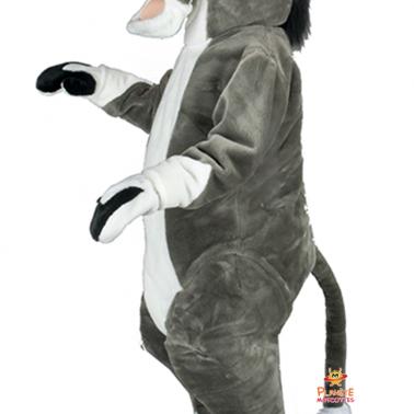 Corps mascotte âne Planète Mascottes