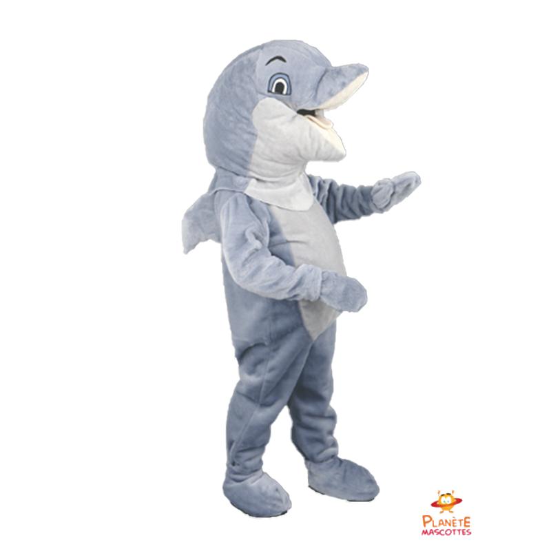 Mascotte dauphin Planète Mascottes