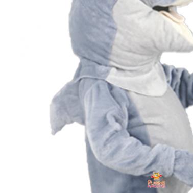Détails mascotte dauphin Planète Mascottes