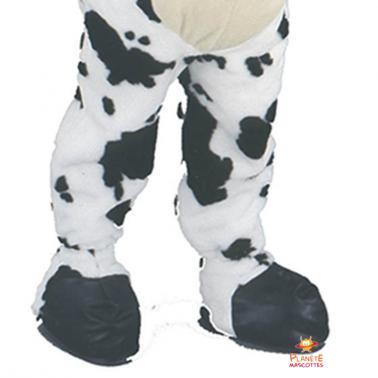 Bas mascotte vache Planète Mascottes