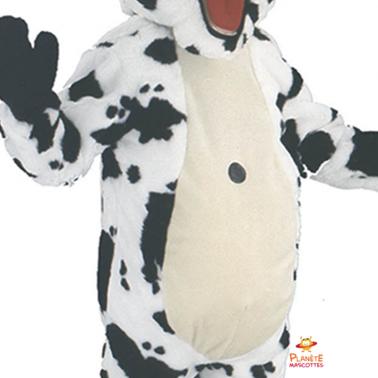 Face mascotte vache Planète Mascottes