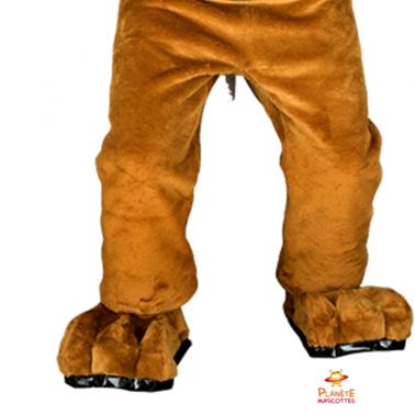 Bas mascotte bulldog Planète Mascottes