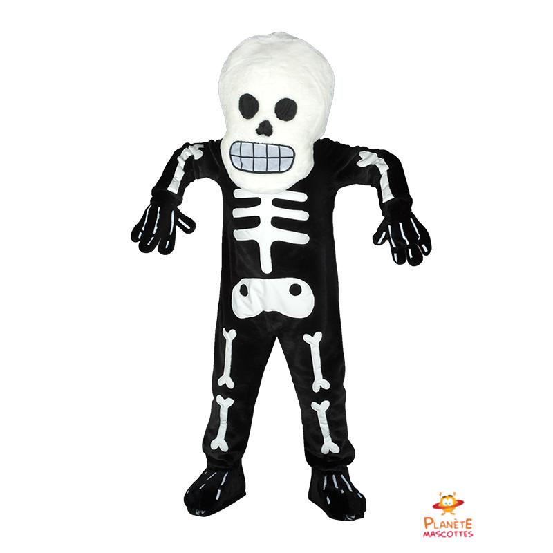 Mascotte squelette Planète Mascottes