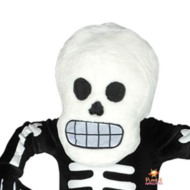 Détail squelette Planète Mascottes
