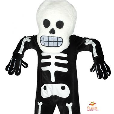 Face squelette Planète Mascottes
