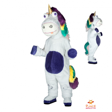 Mascota unicornio