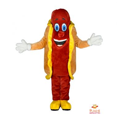 Mascota hot dog