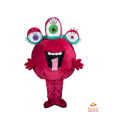 Mascota marciana rosa
