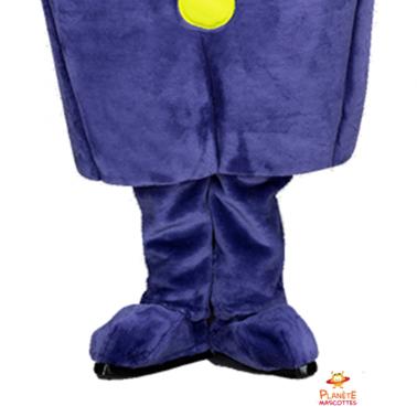Jambes martien violet Planète Mascottes