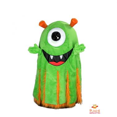 Mascota marciano verde