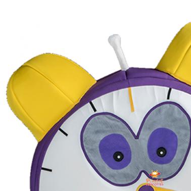 Détail horloge Planète Mascottes