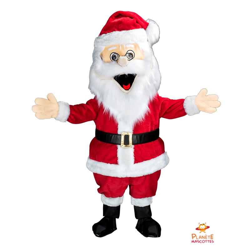 Mascotte Père Noël Planète Mascottes