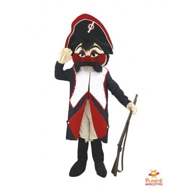 Napoleon costume mascot