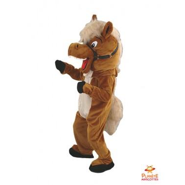 Disfraz de caballo Planète Mascottes