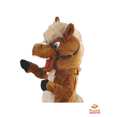 Costume mascotte de cheval