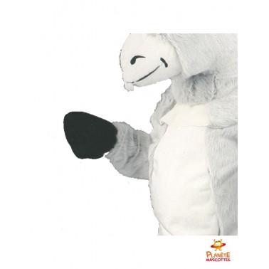 Détails mascotte d'âne