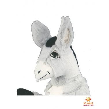 Tête mascotte d'âne