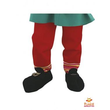 Pantalon mascotte de lutin