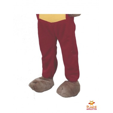 Pantalon mascotte marmotte bricoleur