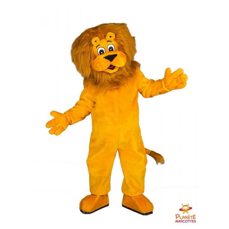 Mascotte lion Planète Mascottes