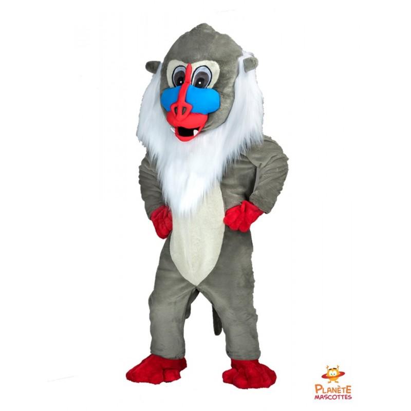 Mascotte singe Planète Mascottes