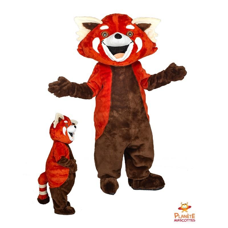 Mascotte panda roux Planète Mascottes