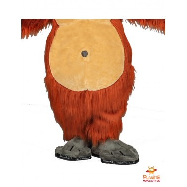 Mascota del orangután