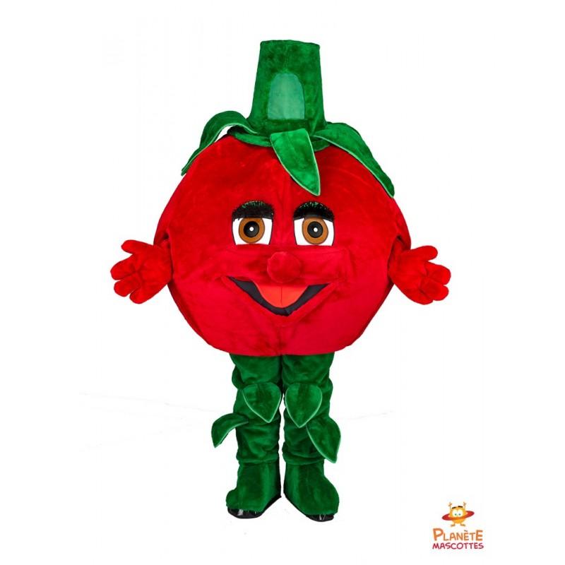 Mascotte tomate Planète Mascottes