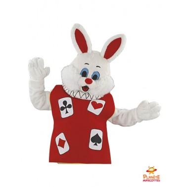 Costume mascotte lapin Las Vegas