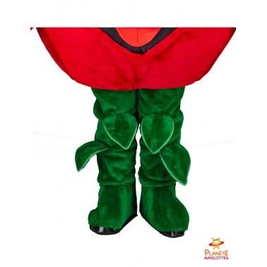 Jambes mascotte tomate Planète Mascottes