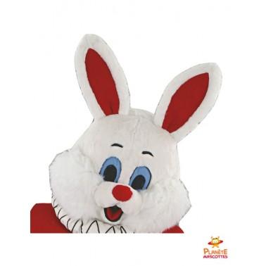 Tête costume mascotte lapin Las Vegas