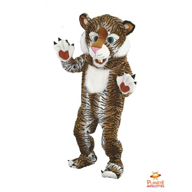 Disfraz de tigre Planète Mascottes