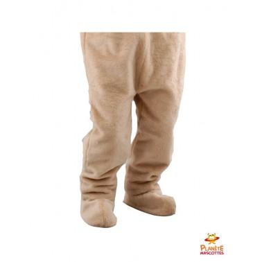 Pantalon mascotte ours en peluche