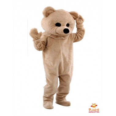 Costume mascotte Ours peluche