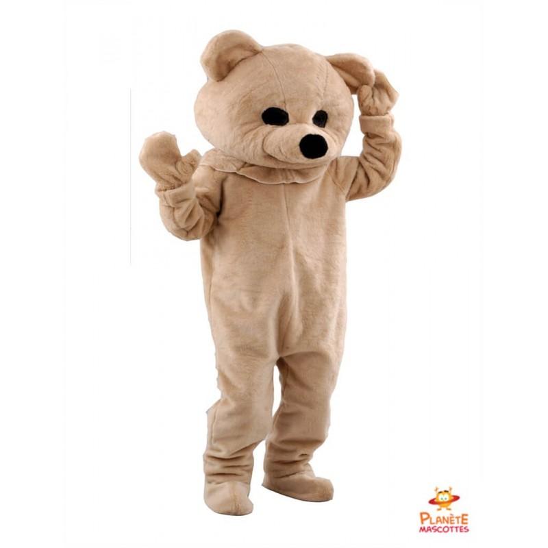 Mascotte ours en peluche Planète Mascottes
