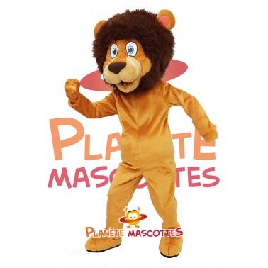 Mascotte costume lion