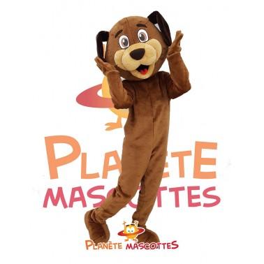 Costume chien mascotte