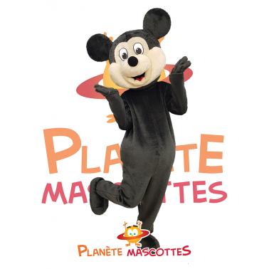 Mascotte souris noire