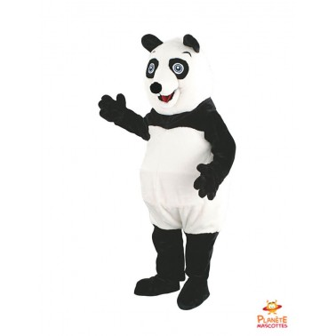 Peluche mascotte de Panda