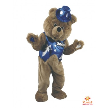 Costume mascotte d'Ours