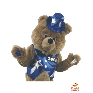 Costume mascotte ours
