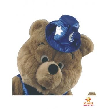 Tête mascotte d'ours