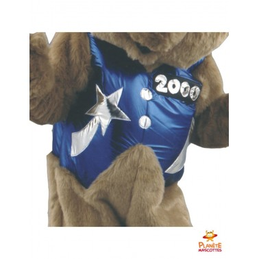 Costume d'ours mascotte