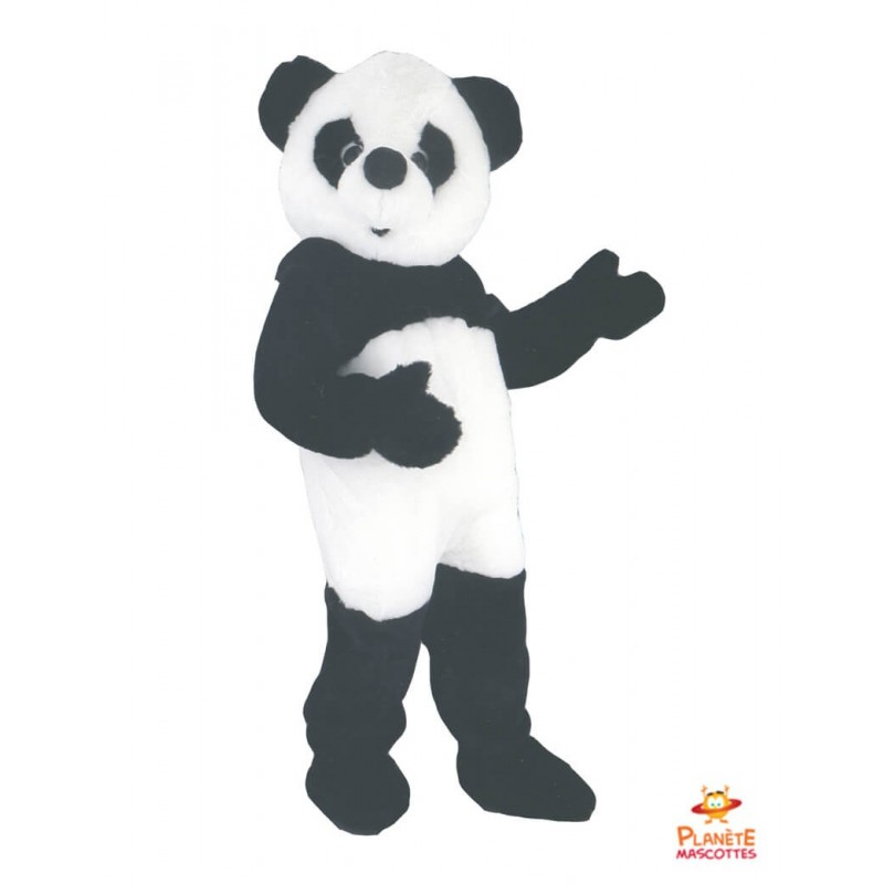 Mascotte panda Planète Mascottes
