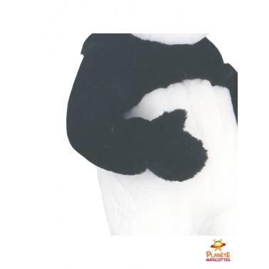 Détails mascotte de panda