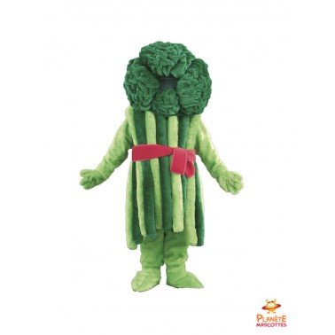 Broccoli Mascot Costume