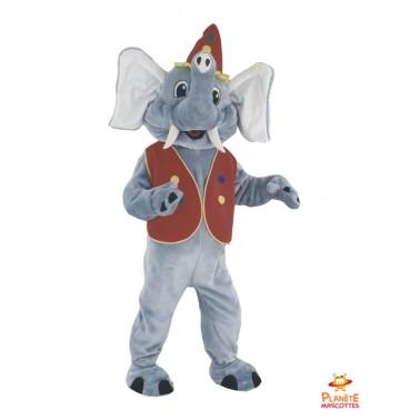 Circus Elephant Mascot Costume