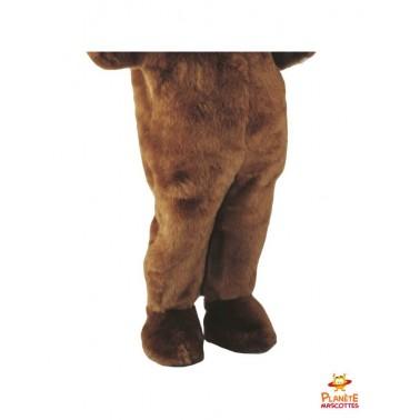 Pantalon mascotte ours brun