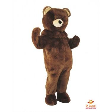 Disfraz del oso pardo Planète Mascottes